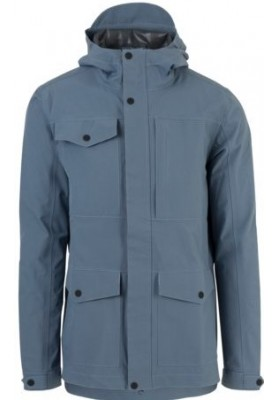 Dusty Blue Urban outdoor pocket regenjas van Agu