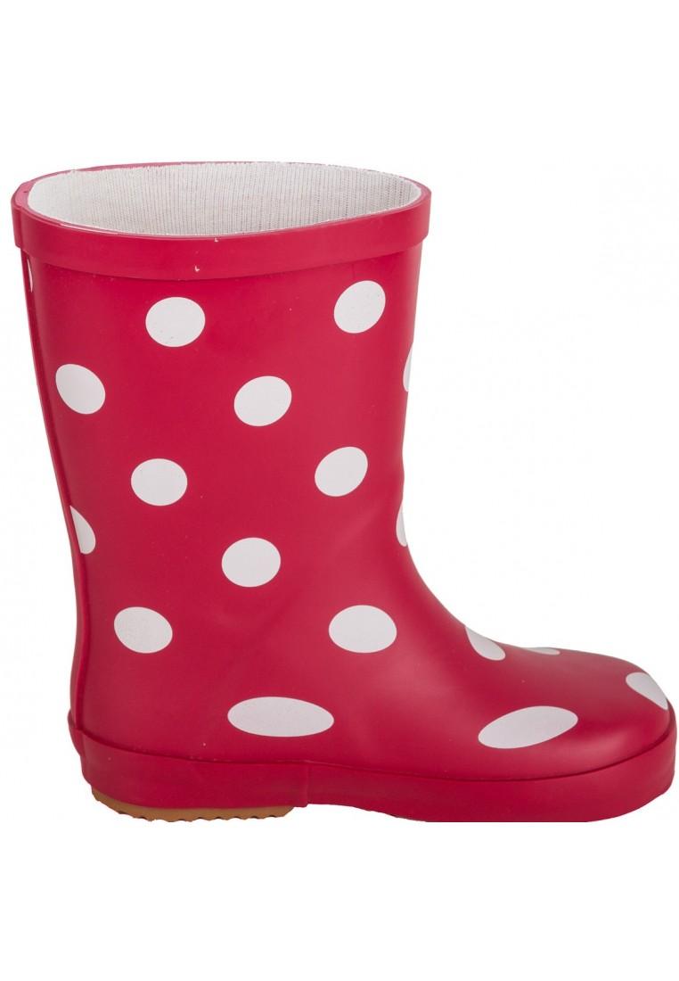 Rood met stippen kinder regenlaars van BMS | Regenlaarsjes