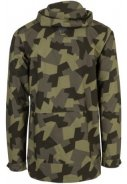 Camo print Urban outdoor pocket regenjas van Agu 2