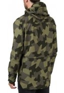 Camo print Urban outdoor pocket regenjas van Agu 4