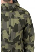 Camo print Urban outdoor pocket regenjas van Agu 5