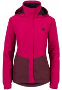 Pink / wine red dames regenpak Section van Agu 3