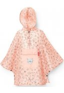 Roze lichtgewicht kinder Regenponcho, Cats and Dogs  1