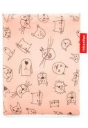 Roze lichtgewicht kinder Regenponcho, Cats and Dogs  2