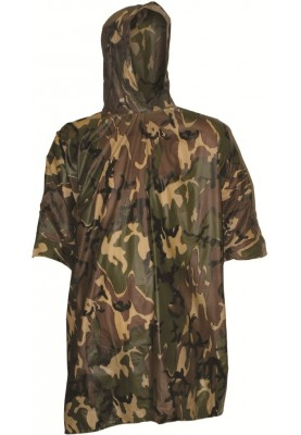 Camouflage poncho Multi Purpose van Highlander