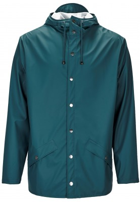 Dark Teal regenjas van Rains (Jacket)