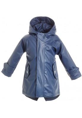 65521565e08dcb Donker blauwe kinder regenjas / parka HafenCity® van BMS