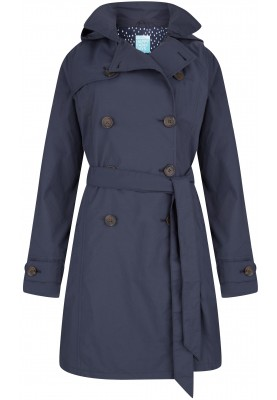 Donkerblauwe trenchcoat Madonna van Happy Rainy Days