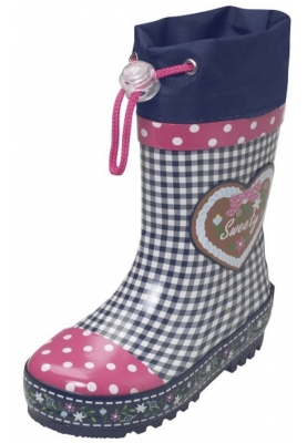 Playshoes regenlaars country style marine