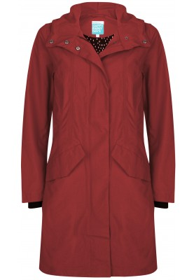 Rode (Port) shaped coat  Patrice van Happy Rainy Days