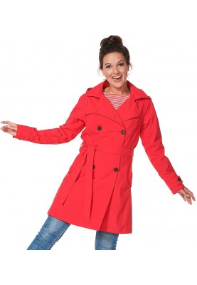 Rode Trenchcoat Rosa van Happy Rainy Days