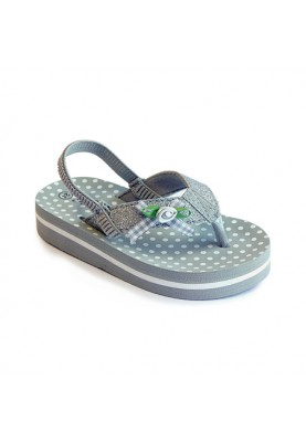 Slipper Florence Silver