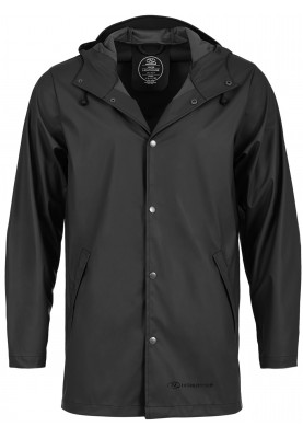 Zwarte regenjas Lighthouse Jacket van Highlander